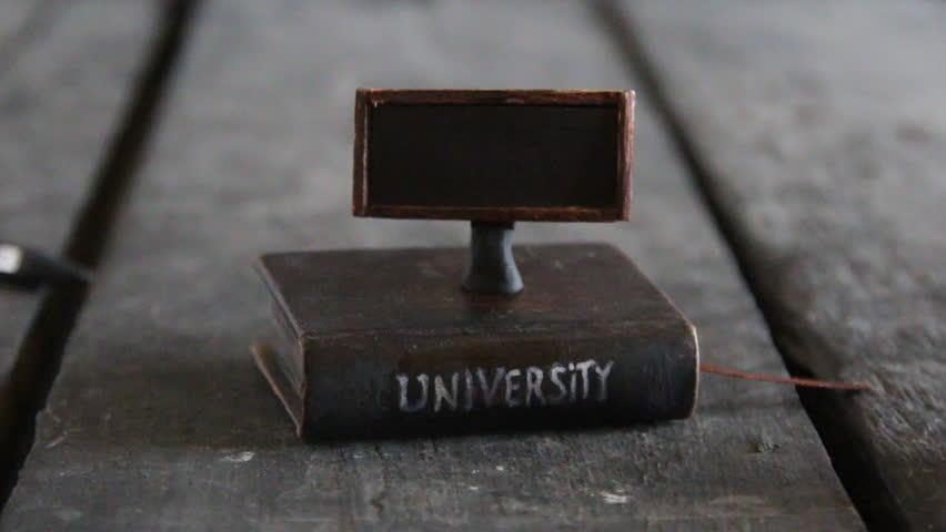 Education idea, Book - computer. | Shutterstock HD Video #23056660