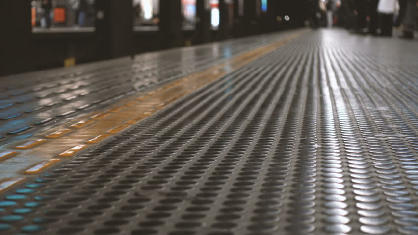 Out of focus people on the platform of a subway station   Shutterstock HD Video #23130208