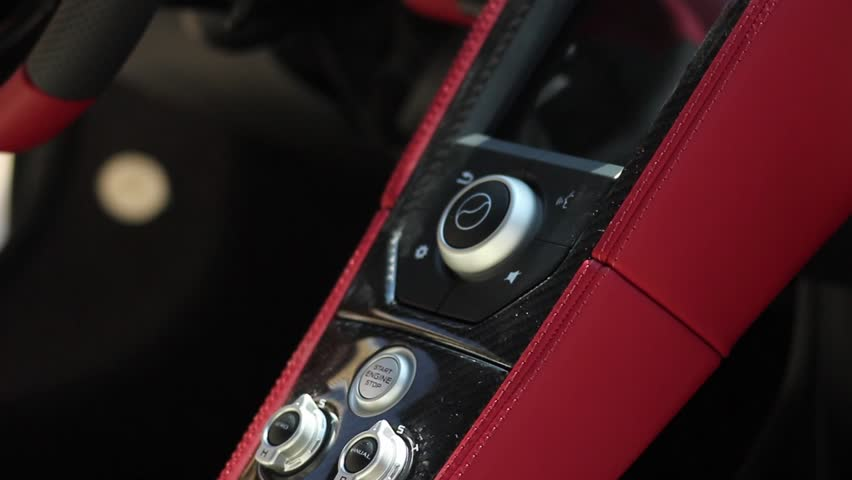 Eather interior of a sports car | Shutterstock HD Video #23163895