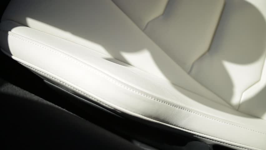 Leather interior of a sports car. | Shutterstock HD Video #23163922