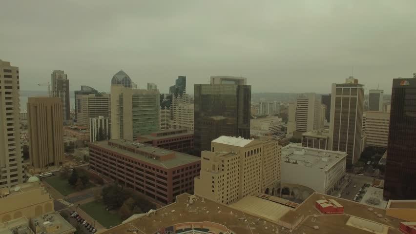 Aerial of San Diego in California.   Shutterstock HD Video #23205853
