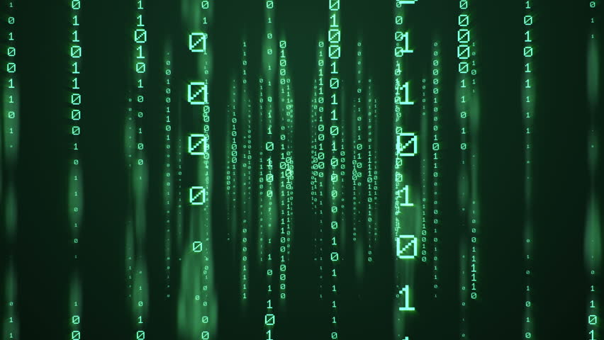 Vertically scrolling numbers, matrix style   Shutterstock HD Video #23212342