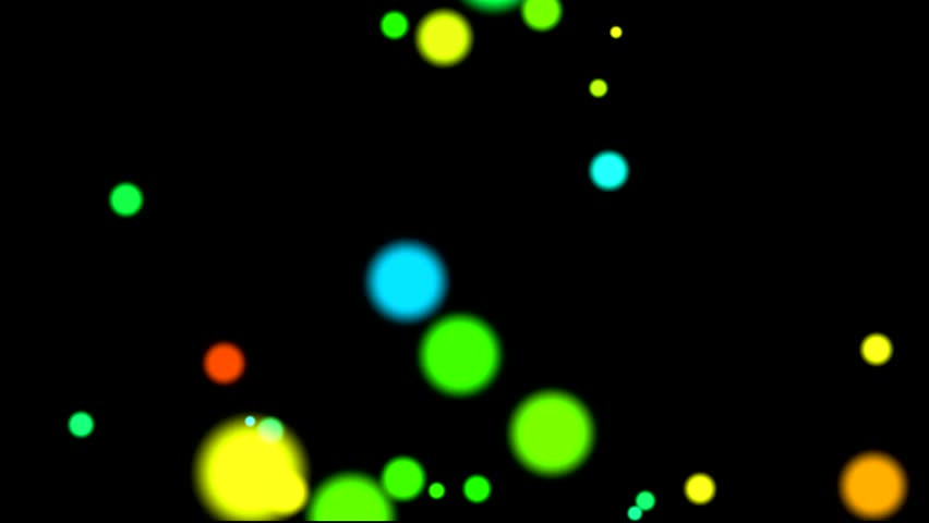 Abstract colorful background of circles. | Shutterstock HD Video #23264893