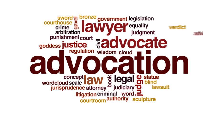 Header of advocation