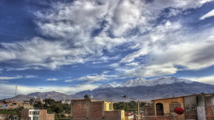 Arequipa HDR time-lapse