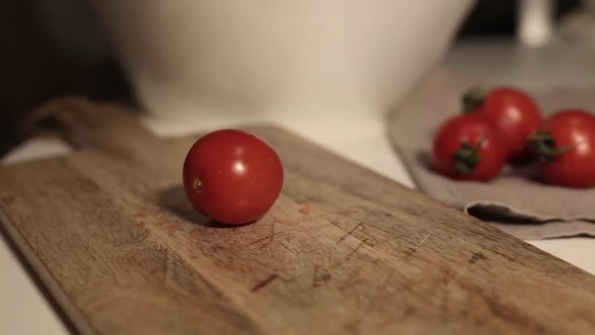 cut some tomato #23727250