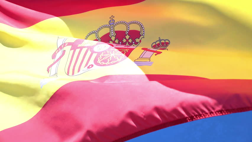 Video of spanish flag in 4k | Shutterstock HD Video #23797999