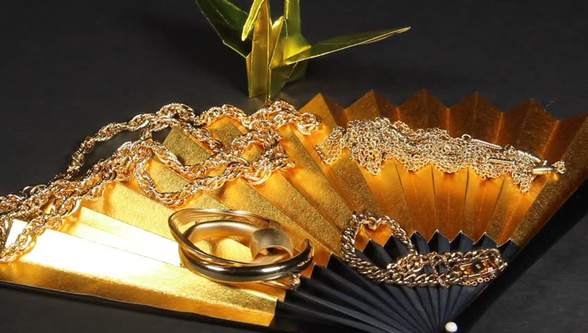Gold  jewelry goods   Shutterstock HD Video #24125536