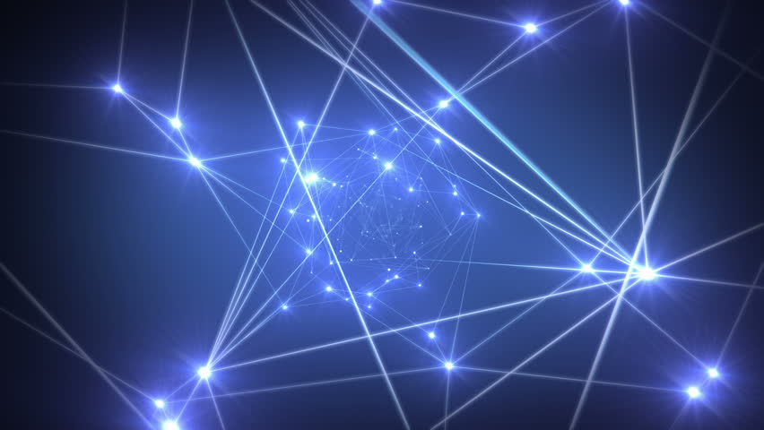 Network Background, seamless looping 3d animation, 4K | Shutterstock HD Video #24128191