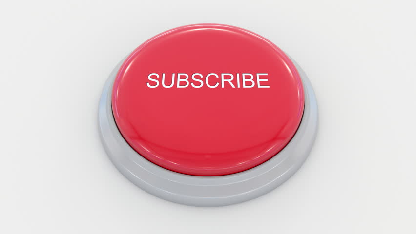 Pushing big red button with subscribe inscription. Conceptual 4K clip | Shutterstock HD Video #24200164
