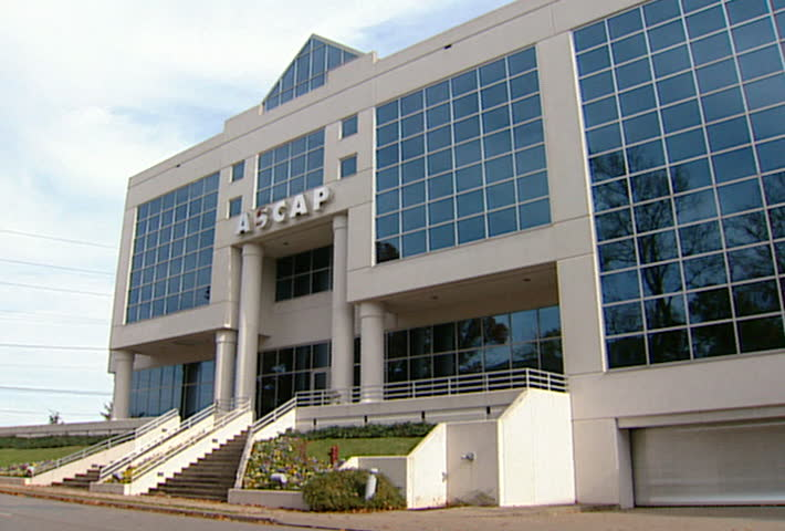 NASHVILLE - Circa 2002: Facade of the ASCAP building in Nashville, TN in 2002. ASCAP a performing rights organization. - SD stock footage clip