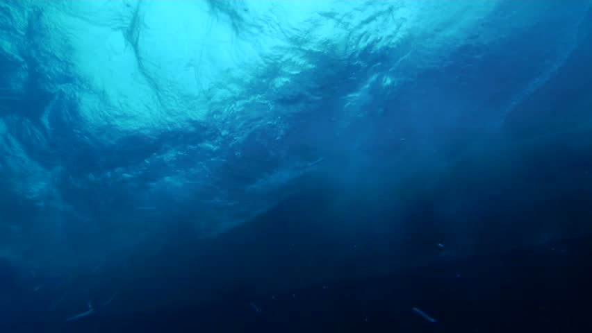 Ocean Scenery Entry Underwater In Could Be Anywhere Stock ...