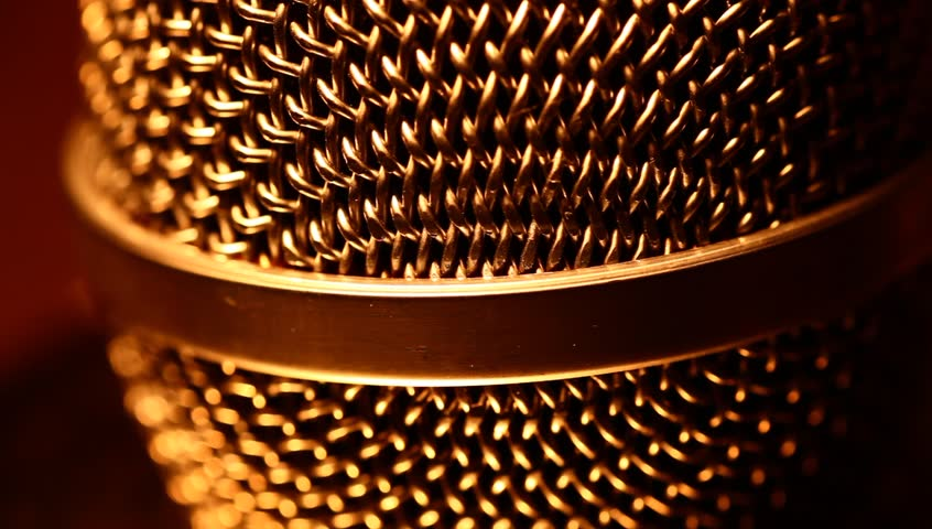 Close up of Microphone