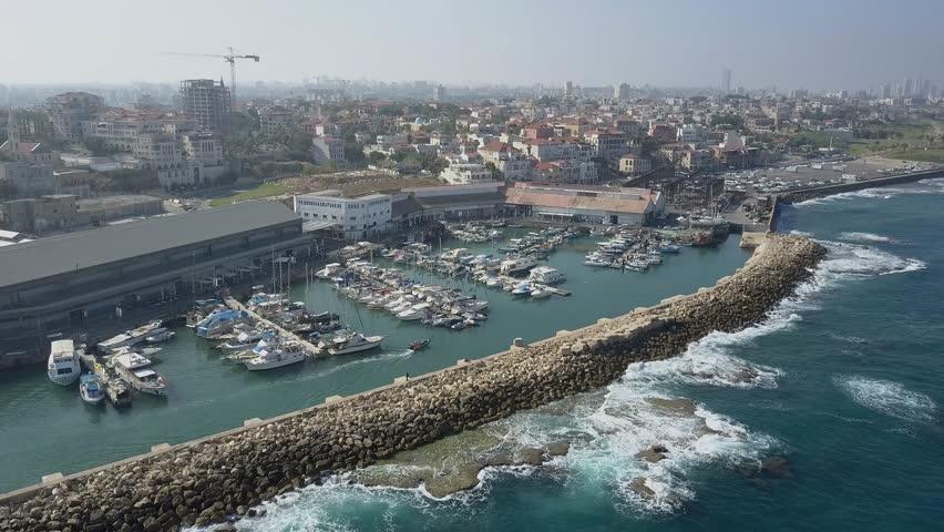 Fisherman's Port in Jaffa, Tel Aviv   Shutterstock HD Video #26795908