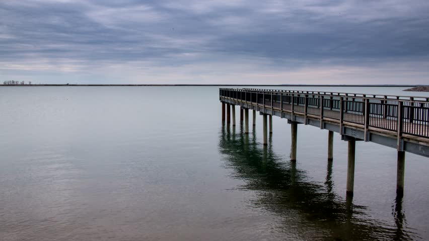 Time-lapse of a cloudscape over Lake Erie. Gallagher Beach, Outer Harbor, Buffalo, NY. | Shutterstock HD Video #26938540