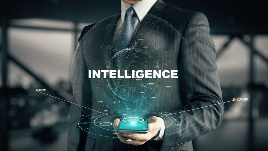 Businessman with Intelligence hologram concept | Shutterstock HD Video #27058402