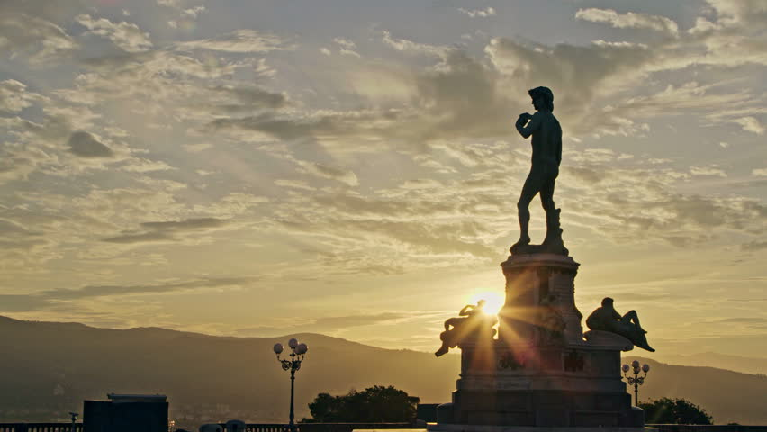 David by Michelangelo in bronze, Florence Tuscany Italy | Shutterstock HD Video #27211987