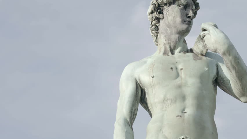 David by Michelangelo in bronze, Florence Tuscany Italy | Shutterstock HD Video #27211996