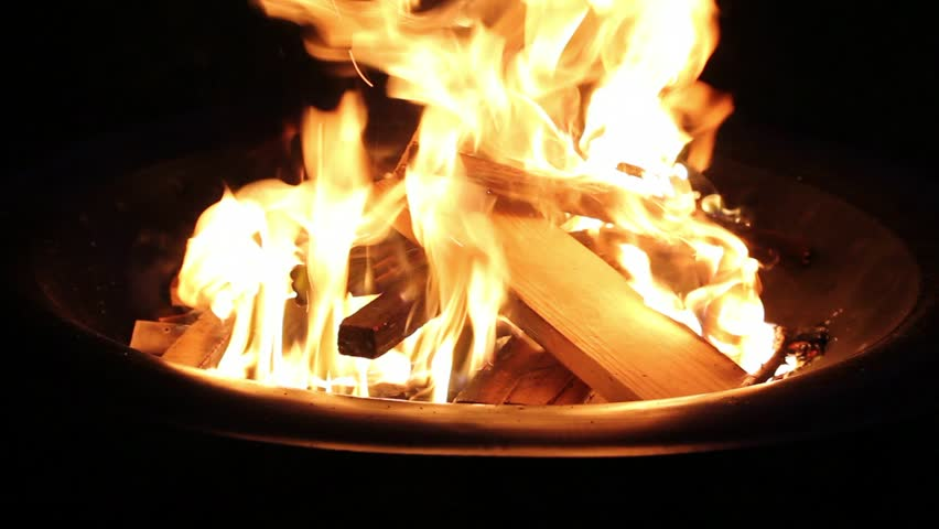 how to start a fire in a fire pit video