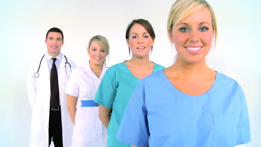 Young medical staff ready to treat patients | Shutterstock HD Video #277426
