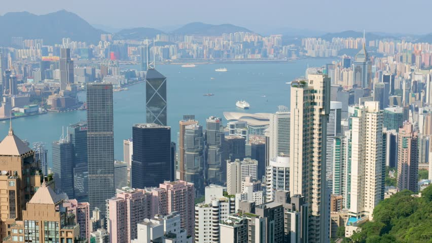 The peak, Hong Kong, 28 May 2017 -: Hong Kong | Shutterstock HD Video #27791848