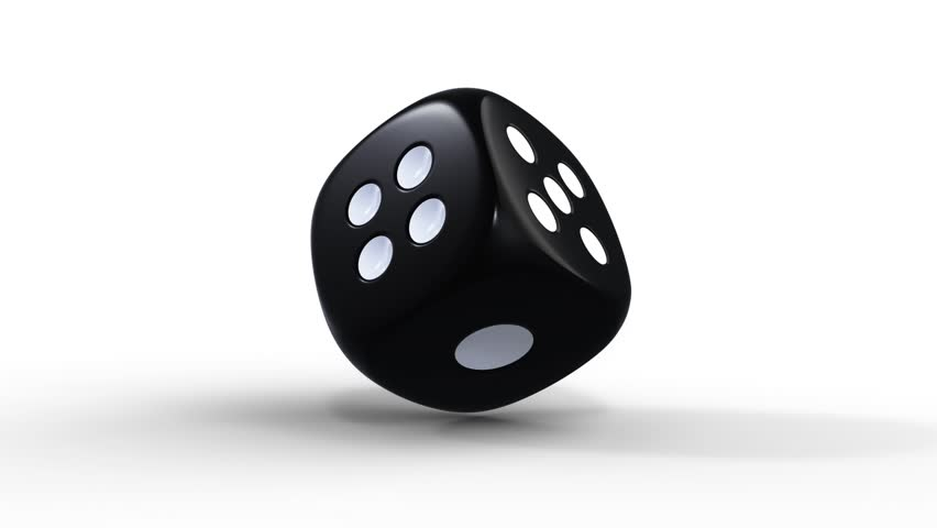 Dice die roll video stock footage for Asino amiatino