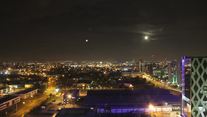 Manchester day-night timelapse.