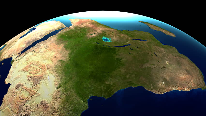 3D illustration/ 3D rendering - rotating Earth/ globe/ world map. | Shutterstock HD Video #28814392
