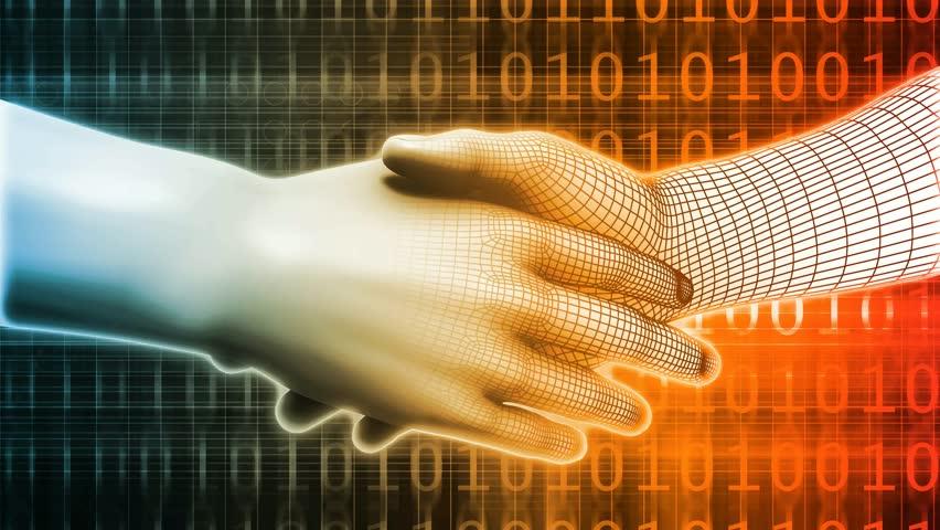 Integration with Technology as a Art Concept | Shutterstock HD Video #28920259