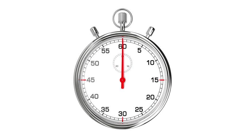 digital stopwatch stock footage video