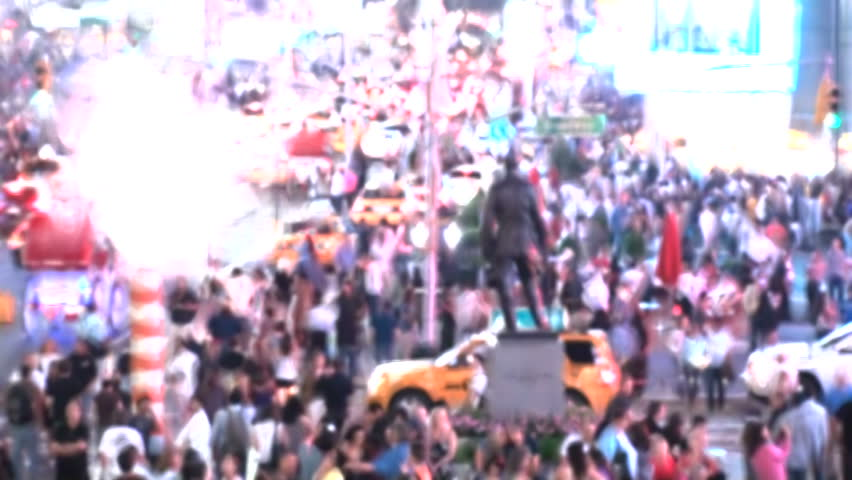 Time lapse in Times Square in New York in a Busy Day. Filters effect added. | Shutterstock HD Video #29210932