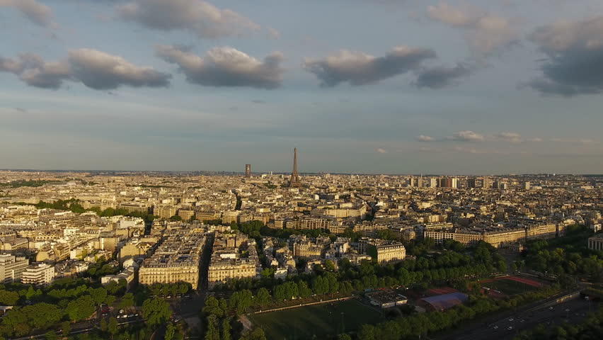 Paris Skyline Aerial View | Shutterstock HD Video #29225836