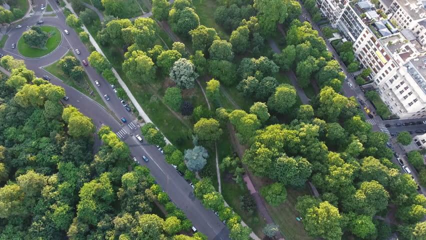 Paris Skyline Aerial View  | Shutterstock HD Video #29225845