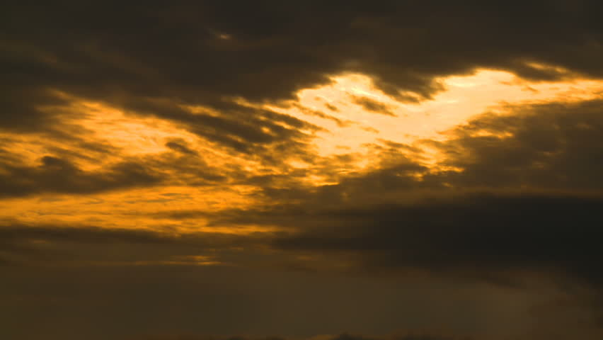 Gorgeous sunset clouds appear to be on fire over West Los Angeles, California.   Shutterstock HD Video #29231992