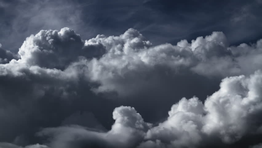 Storm Sky And Clouds Stock Footage Video 2932414 ...