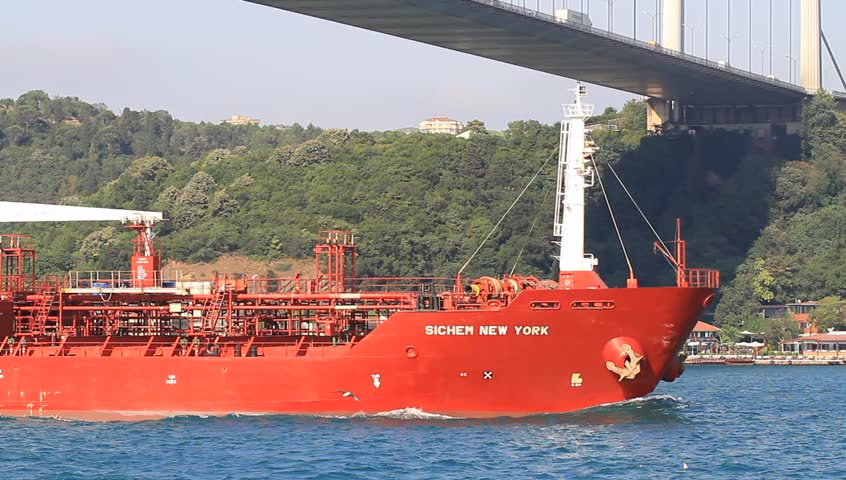 Oil Chemical Tanker SICHEM NEW YORK (IMO: 9337834, Singapore) on July 25, 2012