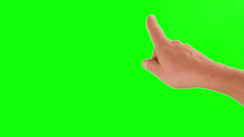 Set of hand gestures, showing the uses of computer touchscreen, tablet, trackpad or ipad. Full HD with green screen. modern technology, 1080p, 1920x1080 | Shutterstock HD Video #2957068