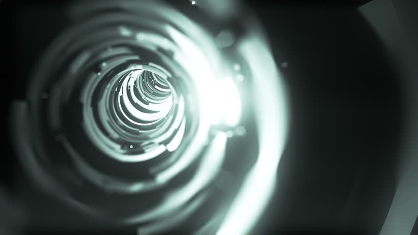 Wormhole though time and space, flashy high tech style.  Travel though this sparkling high tech wormhole at warp speed! | Shutterstock HD Video #2962171