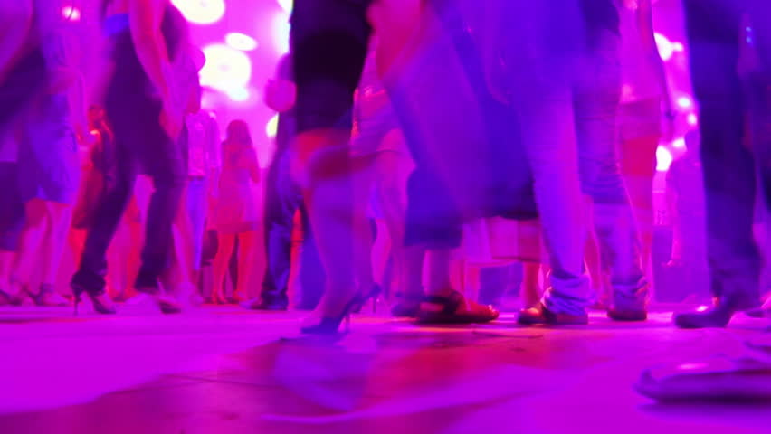 People dancing at discotheque - HD stock footage clip