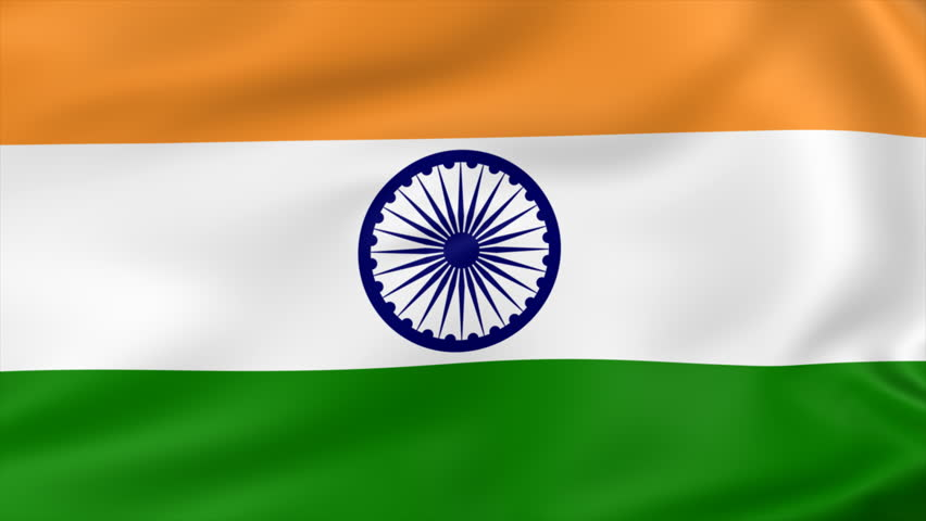 For Indian Flag Hd Animation: Flag Of India Waving With Realistic Cloth Texture