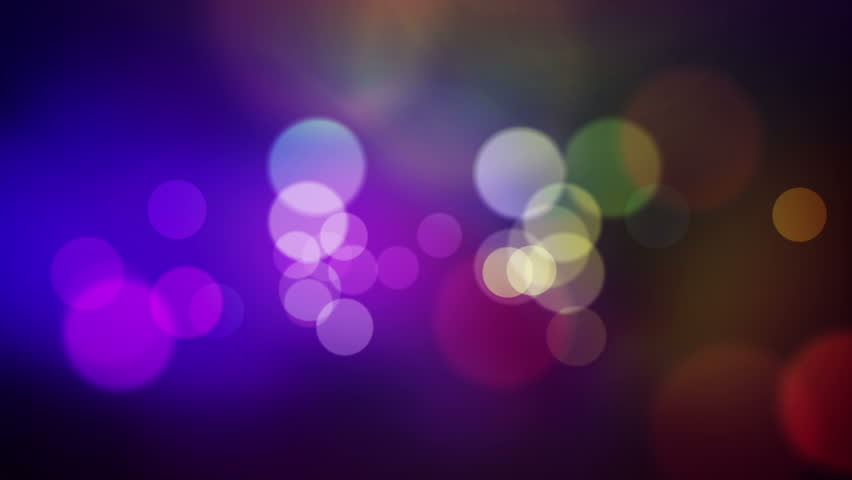animated screen saver of blue and purple with a flash and back focus