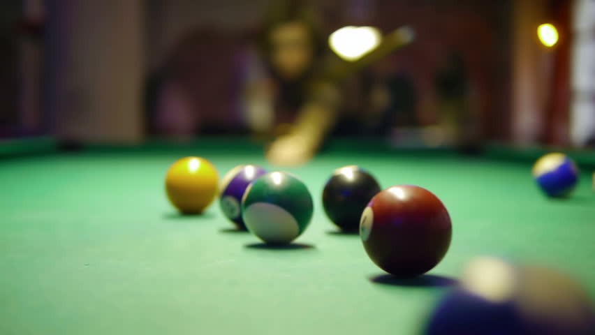 HD - Billiards. First shot