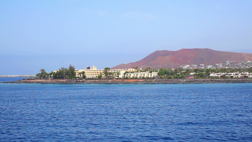 Lanzarote, Canary Islands, Spain - HD stock footage clip