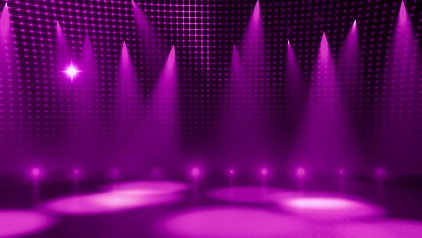Disco Mirror Ball Lights. Stock Footage Video 2865832