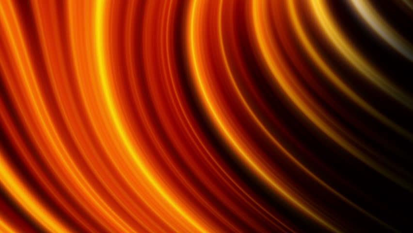 Animation of an abstract glowing background, gold tint