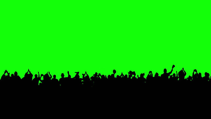 Crowd of people. Green screen. These people are real, shot on green screen. Check out other files from this series.
