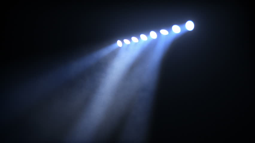 Stage Lights. Amber-Blue. Bright stage lights flashing. SEE MORE COLOR OPTIONS IN MY PORTFOLIO.