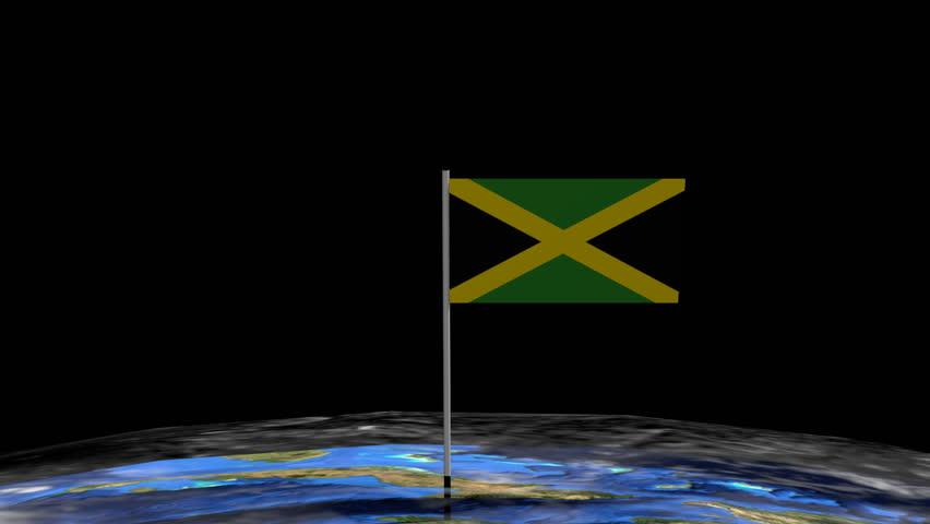 jamaican flag pole - photo #21