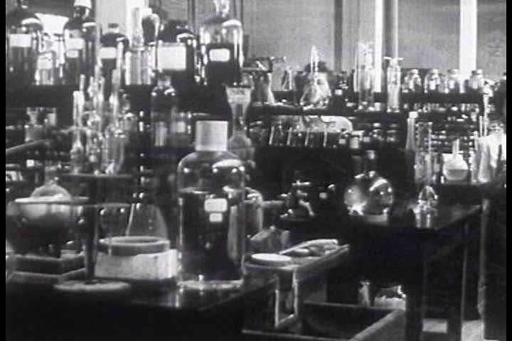 1940s - Many products are produced in wartime at the Kimberly-Clark plant in 1945