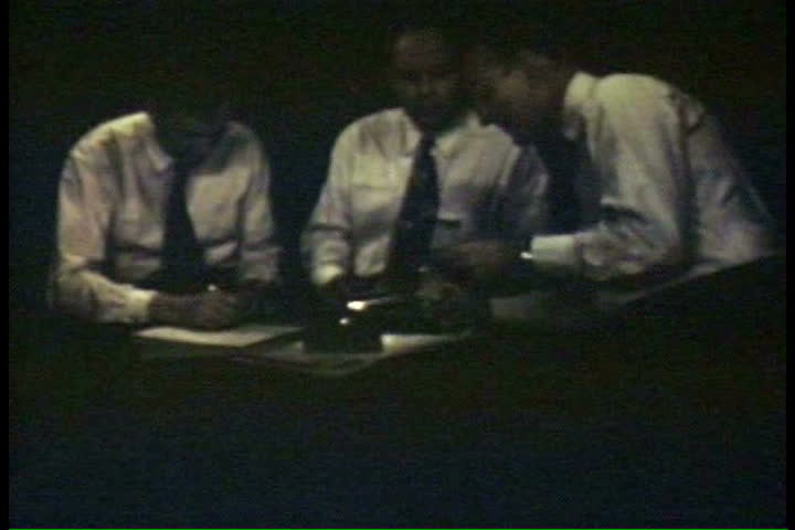 1940s - Research at MIT moves the atomic age forward in 1947. - SD stock video clip